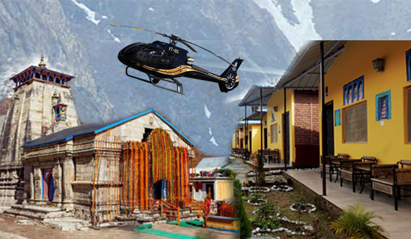 Kedarnath Dham Via Helicopter from Guptkashi Yatra Package